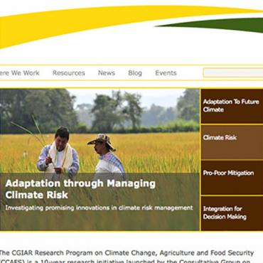 Climate Change, Agriculture and Food Security (CCAFS)