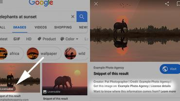 Google Images' 'Licensable' Badge to Help Photographers Sell Photos
