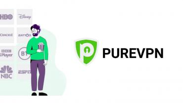PureVPN - streaming video content
