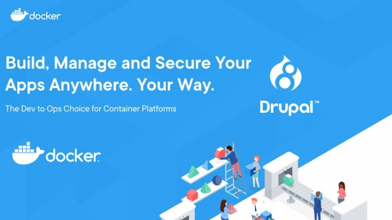 Using Docker to setup a test environment for Drupal 8 in